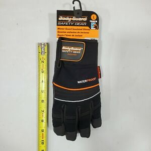 Body Guard Safety Gear Winter Insulated Waterproof Gloves Size l 1
