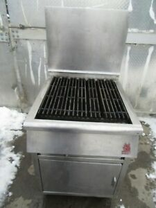 Wolf Grill 25 1 2 Propane Commercial Grill Ss Under Storage On Casters