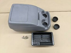 92 96 97 Obs Ford Pickup Truck Bronco Interior Center Bucket Seat Console Gray
