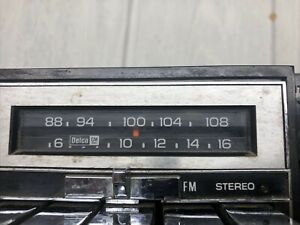 Vintage Gm Olds Buick Pontiac Chevrolet Gm Ac Delco Am Fm Stereo Untested Radio