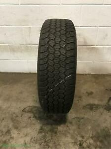 1x P245 75r16 Goodyear Wrangler At Adventure 9 32 Used Tire
