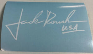 Jack Roush Usa F 150 Rear Window Sticker Decal Multiple Color Choices