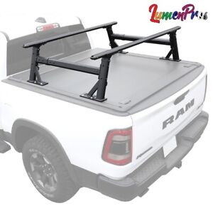 2010 2021 F150 Truck Bed Height Adjustable Lumber Ladder Heavy Duty Utility Rack