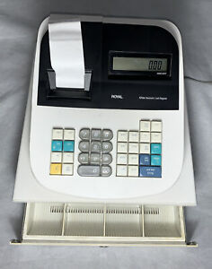 Royal 435dx Electronic Cash Register With No Lock Works Good