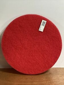 Red Buffer Pad 5100 17 5 case Lot Of 1 Commercial Floor Cleaning Diablo