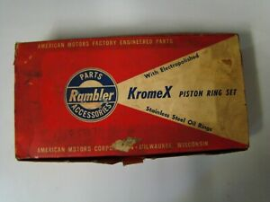 Nos Pn 4485507 Amc Rambler Kromex Piston Ring Set