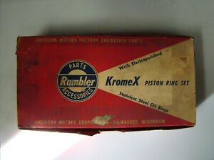 Nos Pn 3205939 Amc Rambler Kromex Piston Ring Set Group 1 146
