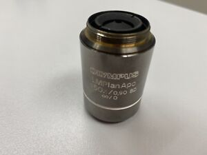 Olympus Mplan Apo 150x 0 90 Bd Microscope Objective Excellent Condition