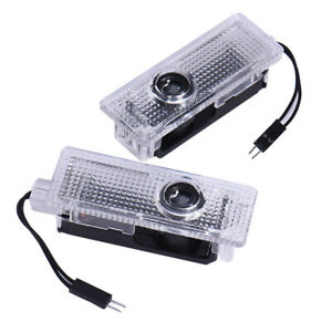 2 Pcs Led Car Door Decor Light Logo Laser Project Welcome Lamps Luces For Bmw