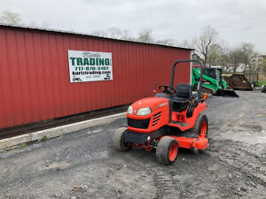 2012 Kubota Bx2350 4x4 23hp Hydro Compact Tractor W 60 Belly Mower 800hrs