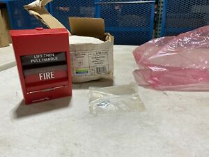 Edwards 278b 1110 Double Action Fire Alarm Pull Station Nos