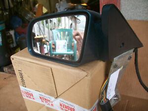 1995 Chrysler Lebaron Convertible Left driver Side View Mirror Assembly Oem