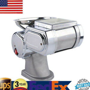 Stainless Steel Meat Slicer Home Kitchen Professional Beef Lamb Slicer Used