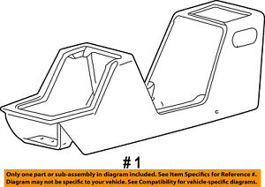 Ford Oem 03 05 Explorer Sport Trac Center Console Console Panel 3l2z35045a36aaa
