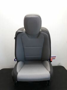 12 15 Chevy Camaro Coupe Oem Passenger Right Front Bucket Seat Gray Cloth