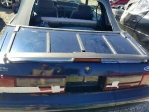 1992 Ford Mustang Convertible Rear Deck Trunk Lid Assembly Oem Luggage Rack Fits Mustang