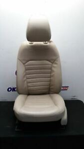 13 16 Ford Fusion Oem Driver Left Front Bucket Seat Tan Leather