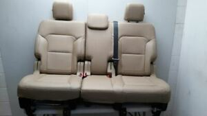 17 2017 Ford Explorer Xlt Oem Second Row Rear Seat Split Bench With Belt Bags