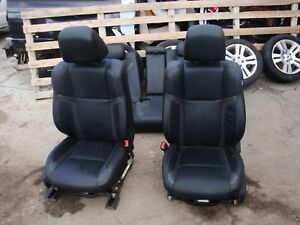2011 18 Dodge Charger Seats srt rt r t Hemi factory black leather front rear