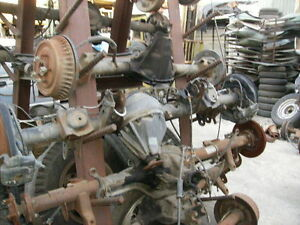 Toyota Land Cruiser 2000 Complete Rear End Differential