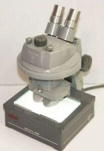 Bausch Lomb Stereo Zoom Microscope 0 7x 3x Illuminating Base Head Extension