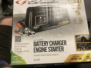 Schumacher Sc1361 12v Auto Battery Charger 2 6 10 50a Engine Starter maintainer