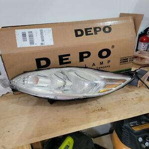2011 2012 2013 Ford Fiesta Driver Leftside Headlamp S Se