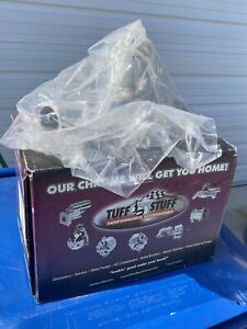Tuff Stuff Water Pump 1449na Chrome Cast Iron For Chevy Gm 262 400 Sbc