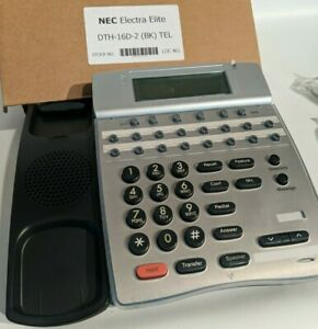 Nec Dth 16d 2 bk Lcd Display Business Telephone