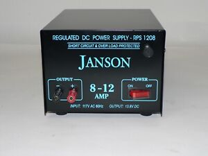 13 8v Regulated Dc Power Supply 8 12a Rps 1208