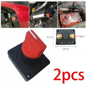 2x 300a 12v Car Boat Battery Power Isolator Master Disconnect Cut Off Switch