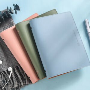 Refillable Soft Pu Leather Cover Journals Notebook Lined Paper Writing Diary