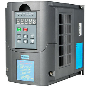 0 75kw 1hp 110v Variable Frequency Drive Inverter Cnc Vfd Vsd Single To 3 Phase