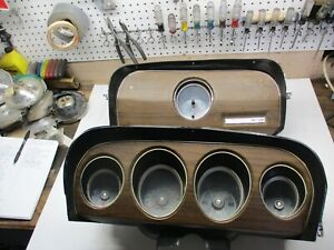 1969 Mustang Instrument Cluster And Dash Clock Grande Mach 1