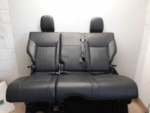 12 2012 Jeep Liberty Limited Oem Second Row Rear Seat Black Leather