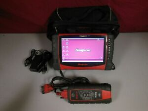 Snap on Verus Pro D10 Eehd301 6 Automotive Diagnostic Scan Tool 18 2 Update