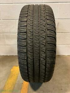 1x P245 65r17 Goodyear Fortera Hl 6 32 Used Tire
