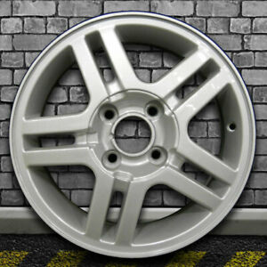 Full Face Sparkle Silver Oem Factory Wheel For 2000 2004 Ford Focus 15x6