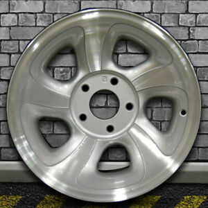 Machined Medium Sparkle Silver Oem Wheel For 1998 2004 Gmc Sonoma 4x2 15x7