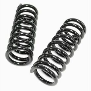 Global West S 2 Front Coil Over Springs For Camaro Small Block 1967 1969 New