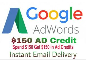 Google Adwords Ads Free 150 Usd Credit For New Accounts