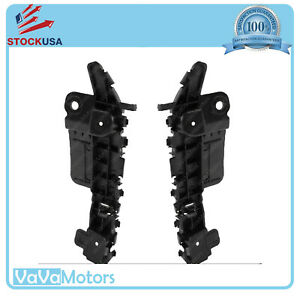 Fits Chevy Cruze 2011 2015 Front Bumper Support Mounting Brackets Pair 2pcs
