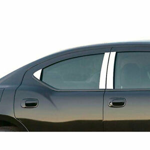 6pc Luxury Fx Chrome Pillar Post Trim Fit For 2006 2010 Dodge Charger