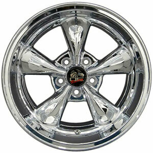 17 Chrome Wheel 17x10 5 Fit For Mustang Bullitt Style Rim