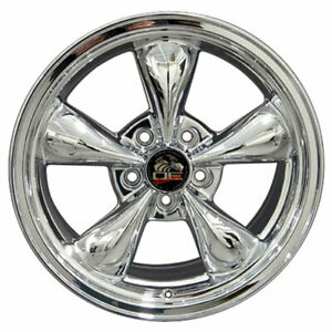 17 Chrome Wheel 17x8 Fit For Mustang Bullitt Style Rim