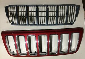 1999 2003 Jeep Grand Cherokee Wj Limited Front Grill And Grill Backing