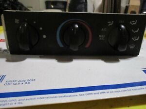 1999 Ranger Climate Temperature Control Unit Defroster Fan Speed Selector