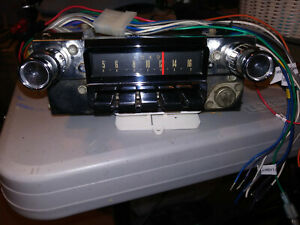 1965 1966 Mustang Am Radio Converted To Modern Am fm Stereo With Aux Input