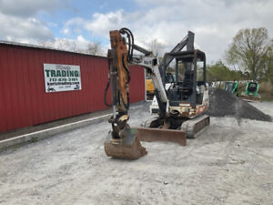 2002 Bobcat 331e Hydraulic Mini Excavator W Extend a hoe Only 2500 Hours