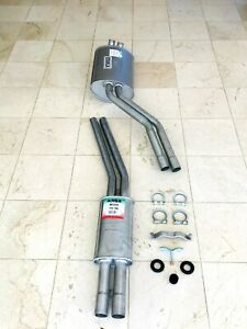 Mercedes Benz 350sl 450sl 450slc R107 Exhaust Muffler Ansa Front Rear Pipe Set